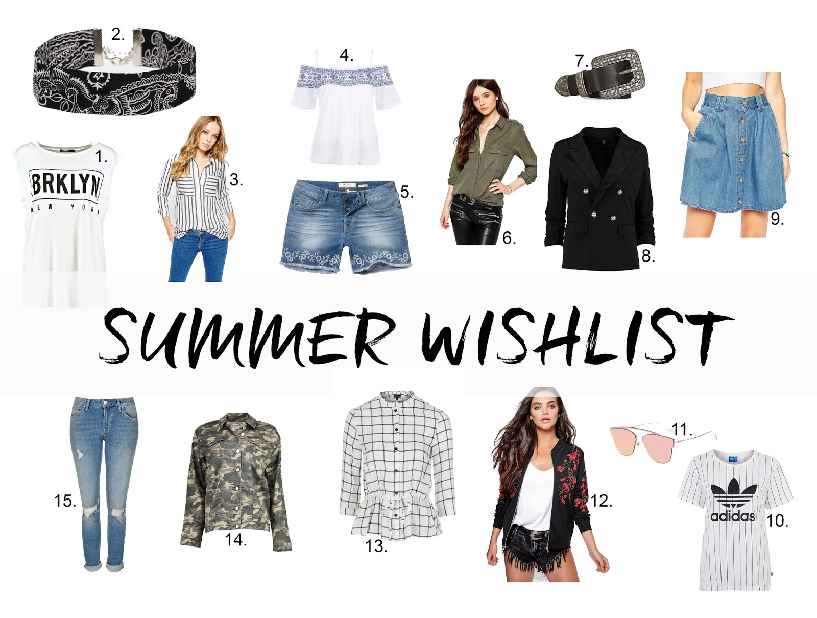 Capsule Wardrobe Summer Trend Wishlist