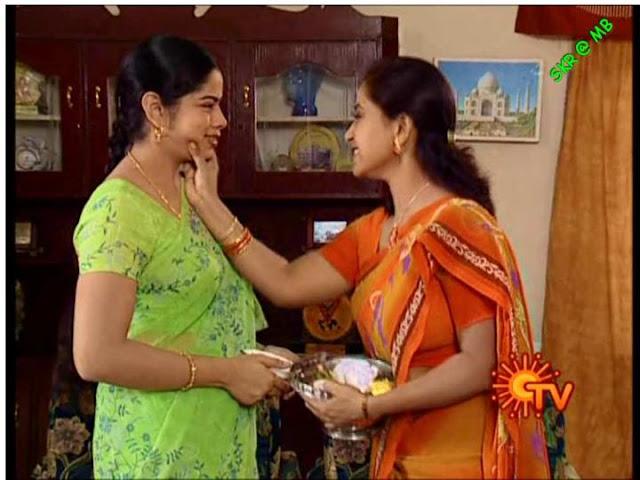 INDIAN ACTRESS: Tamil Serial Actress Deepa Venkat Green