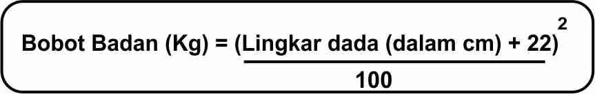 PERBANDINGAN INDEKS MASSA TUBUH, LINGKAR