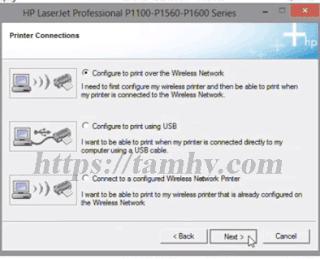 Hướng dẫn cài đặt máy in Hp P1102W qua wifi 10