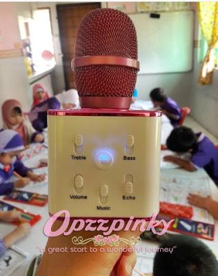 Manfaat Microphone Bluetooth kepada Cikgu Tadika