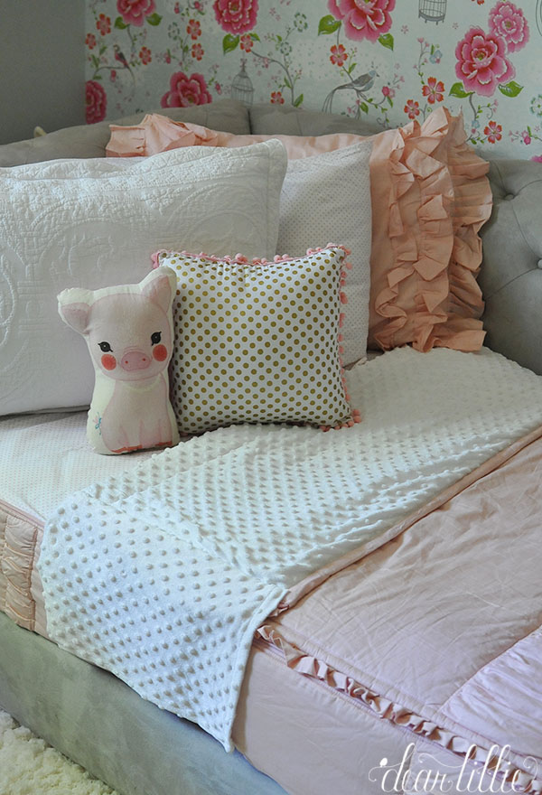 Dear Lillie Easy And Fun Bedding For Lola S Room