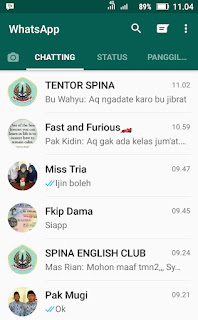 tips dan trik whatsapp Android