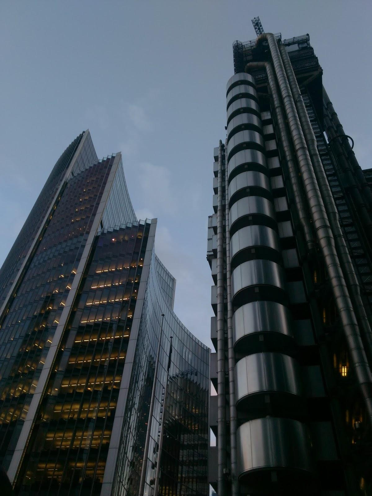 Mrakodrapy v Londýně