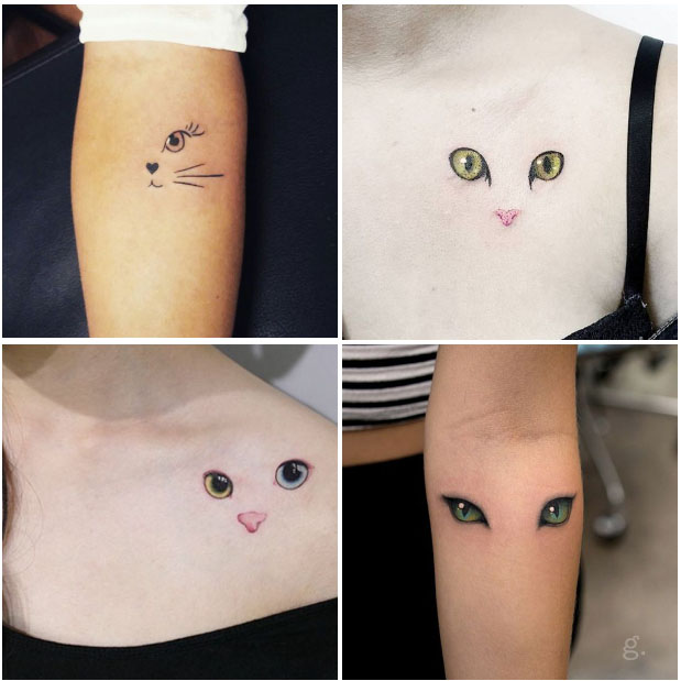 33 Mejores Fotos De Tatuajes De Gatos Y Su Significado