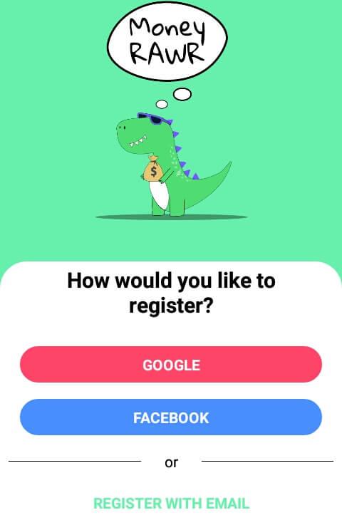 Silahkan membuat akun atau mendaftar melalui Google, Facebook, ataupun Email dan ikuti langkah selanjutnya.