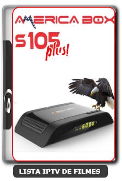 Americabox S105 + Plus Nova Atualização Melhorias no sistema SKS e IKS V1.41 - 09-06-2020