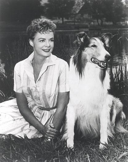 June Lockhart lassie