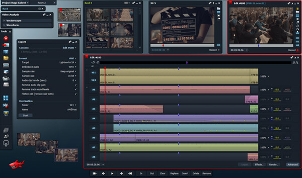 Lightworks - δωρεάν λογισμικό επεξεργασίας βίντεο