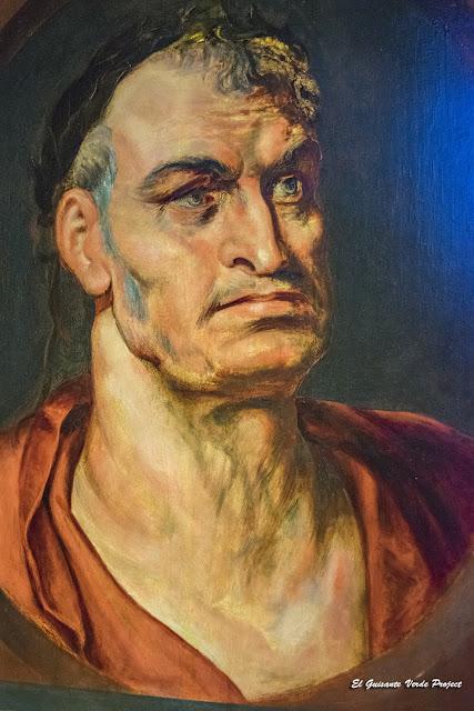 Rubens. Retrato de Galba, Casa Rubens - Amberes, por El Guisante Verde Project