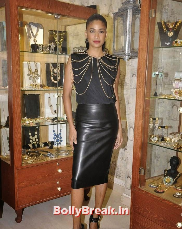 Carol Gracias, Pics from Bansri Mehta Jewellery Lounge Preview