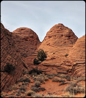 Wire Pass Tee Pees on the Rock Staircase Pass Wave Trail  Utah