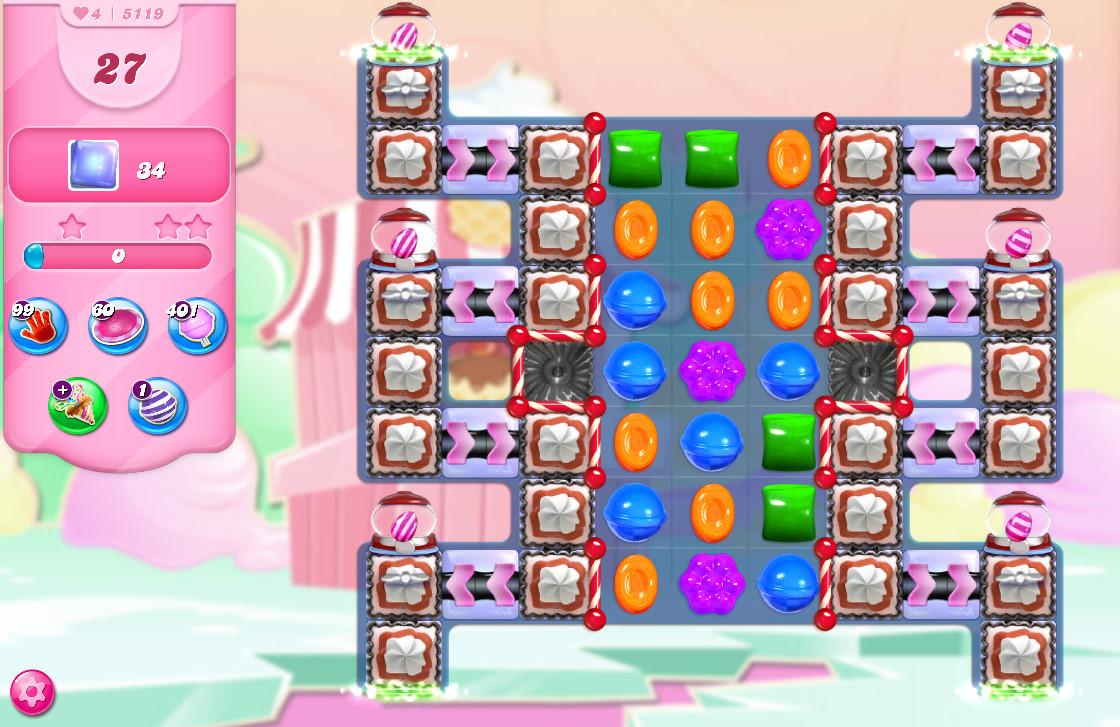 Candy Crush Saga level 5119