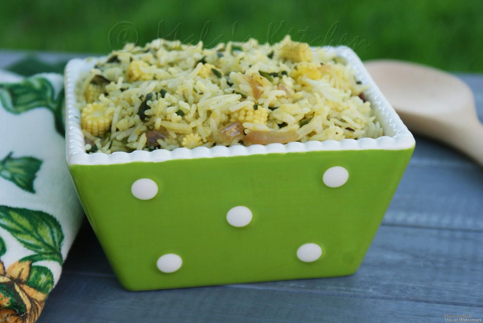 Corn Rice Hebbar S Kitchen