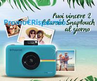 Logo L'Estate Inizia da Dentro e con Activia vinci 306 Polaroid Snaptouch