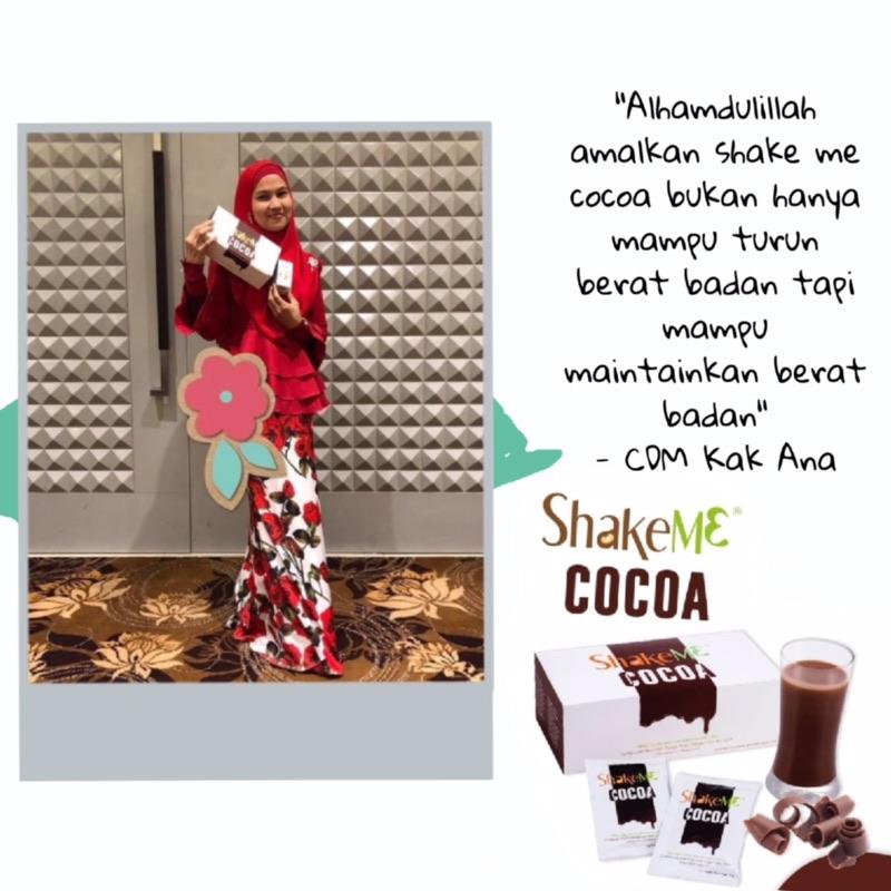 testimoni Shake Me Cocoa CDM Kak Ana