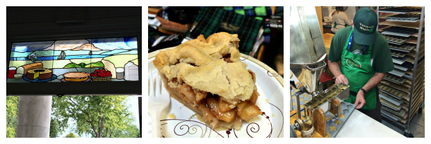 New England Fall Events_The Big E_Avenue of the States_VT Building_Apple Pie_Stained Glass