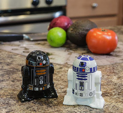 Starwars Droid Salt and Pepper Shakers