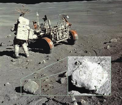 moon landing hoax rock - photo #1