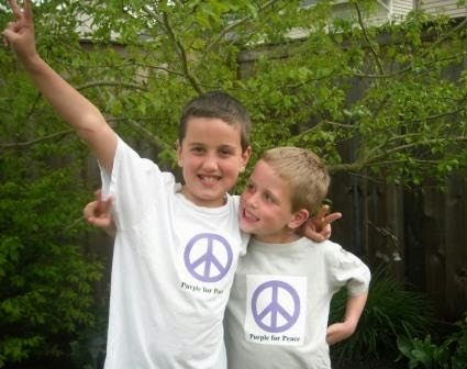 40427c4dfd480 Every Day Is Special  May 16 – Wear Purple for Peace Day
