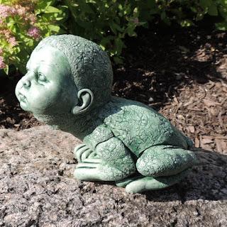 Garden Figurine - half human and half frog