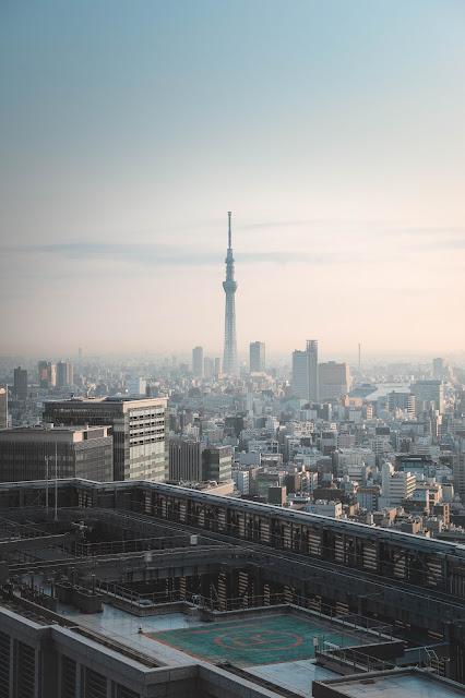 Room view at Shangri-La Tokyo