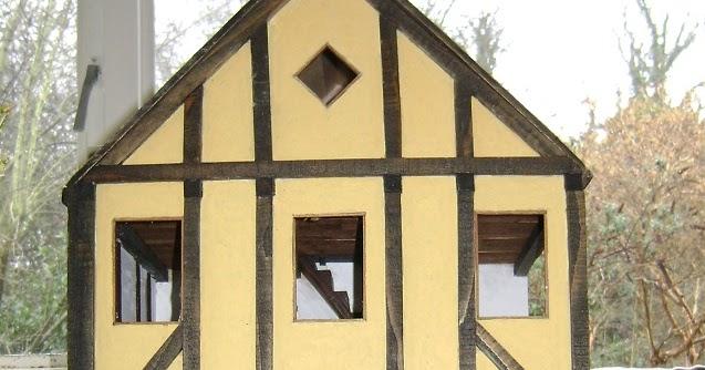 Dollhouse Escapes Tudor Roof