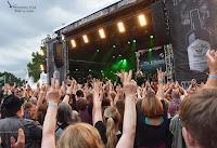 Gute Stimmung beim Irish Folk Festival in Poyenberg
