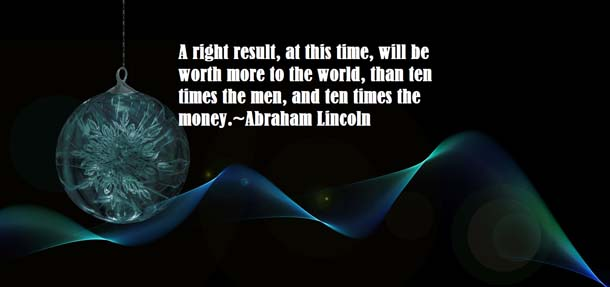 Abraham Lincoln Quotes About Time