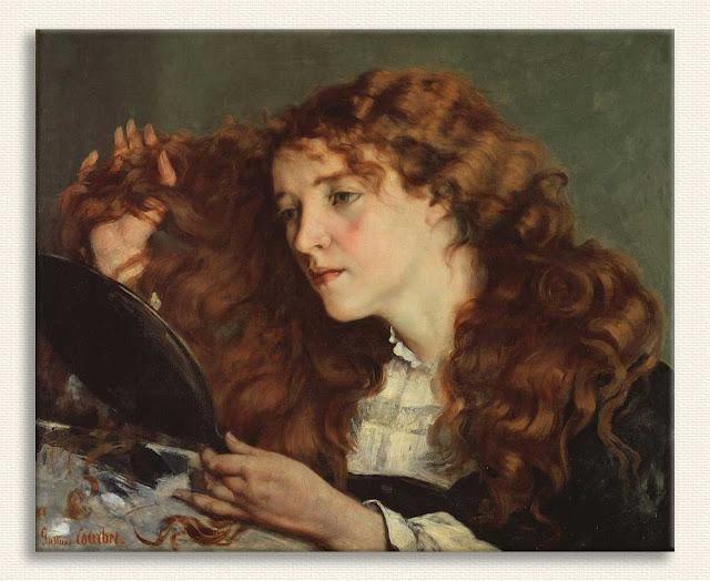 Gustave Courbet Güzel Irlandalı Kız