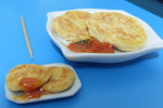 My handmade miniature clay food: roti prata