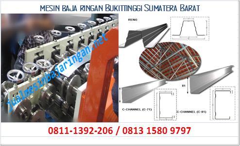 mesin baja ringan Bukittinggi Sumatera Barat
