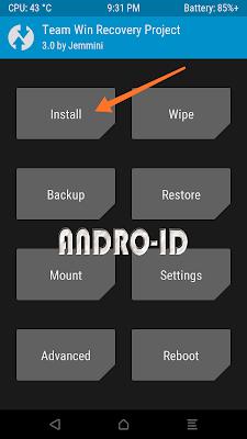 Cara Update / Flashing / Mengatasi Bootlop MIUI 9.5 Xiaomi Redmi Note 2 / Prime via TWRP / Fastboot