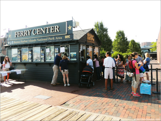 Boston Harbor Islands: Ferry Center