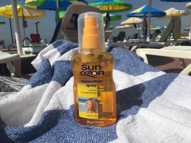 sun ozon uv filtreli saç bakım spreyi 1