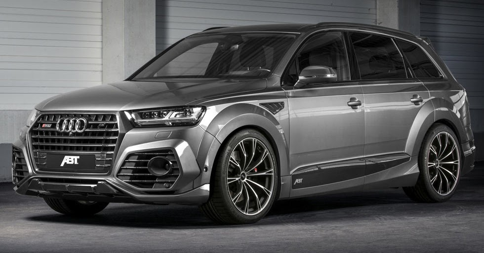 new audi sq7 gets the works from abt with 520 horses. Black Bedroom Furniture Sets. Home Design Ideas
