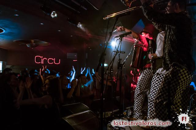 Circus Problem, Balkan Beats London