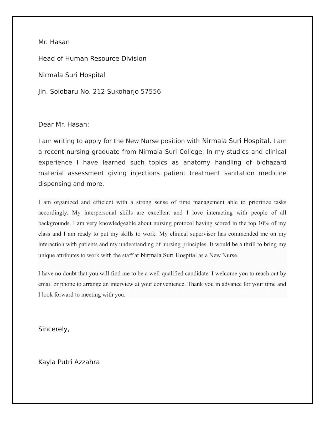 Cara Memuat Surat Contoh Surat Lamaran Pekerjaan Bahasa Inggris Dan Artinya