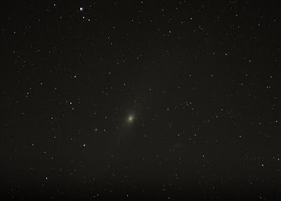 andromeda galaxy 300mm lens