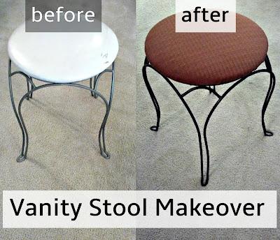 http://fixlovely.blogspot.ca/2013/11/vanity-stool-makeover.html