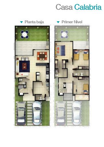Casas en venta y departamentos for Modelos casas planta baja