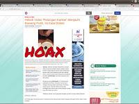 (Hoax) Potongan Kanker Bergerak Jauhi Bawang Putih