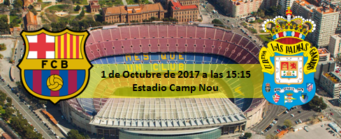 Previa FC Barcelona - UD Las Palmas 1 Octubre 15:15h
