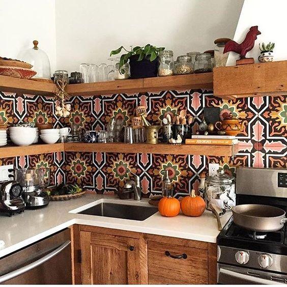 la maison boheme: eclectic kitchen