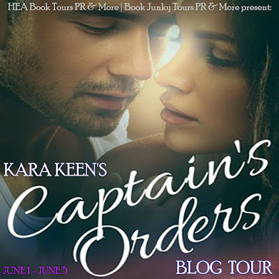 Captain's Orders by Kara Keen book blog tour graphic
