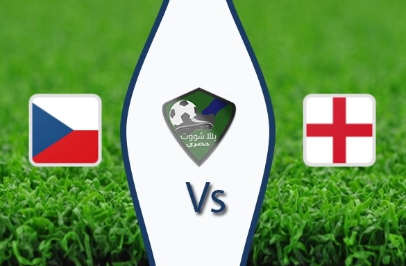 مشاهدة مباراة انجلترا والتشيك بث مباشر