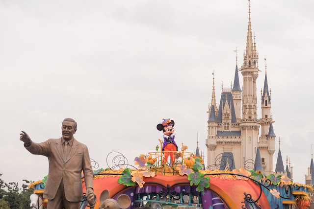 disney and mickey statue