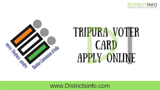 Tripura Voter card Apply Online