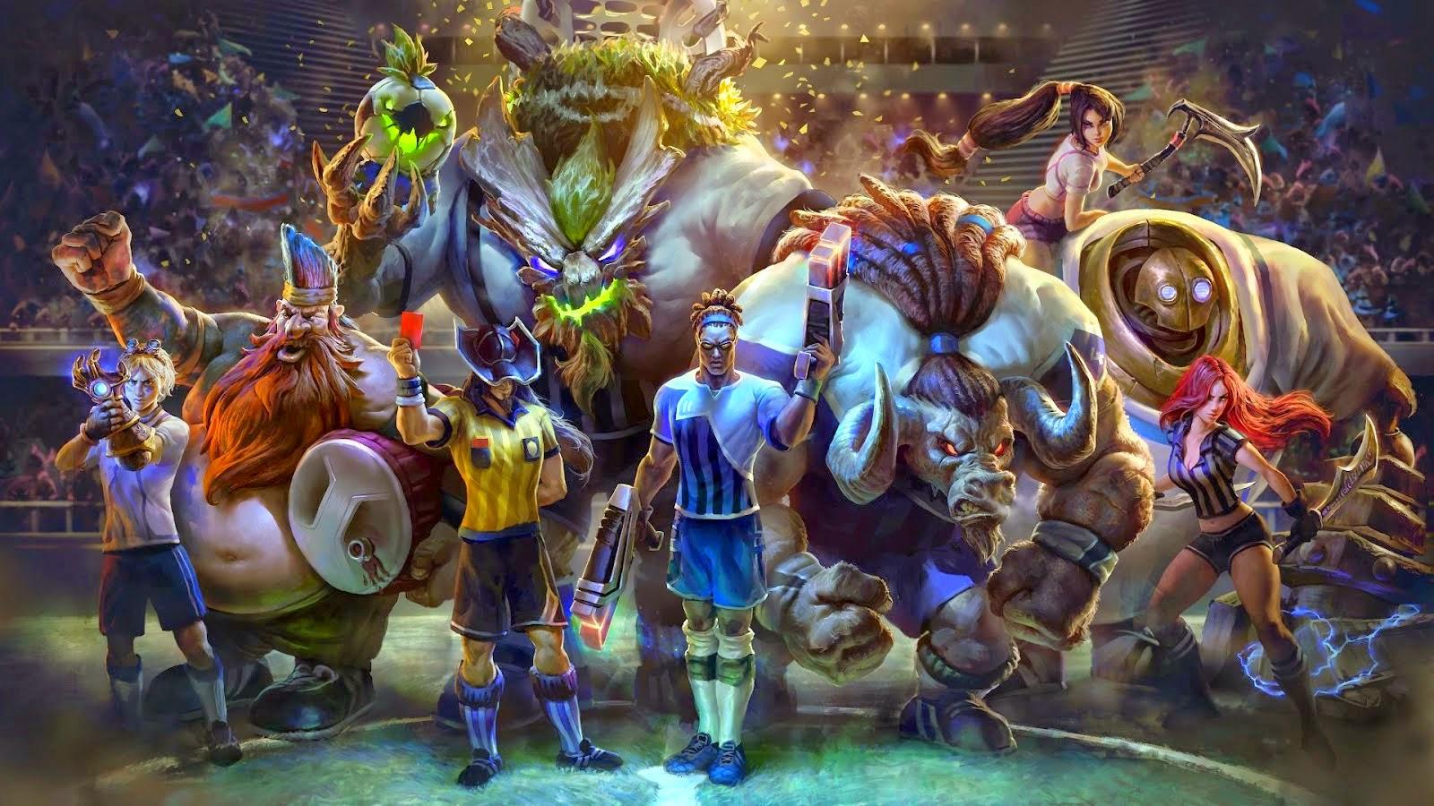 Hình Game Pubg đẹp Nhất: Hình Nền Các Tướng LMHT đẹp Nhất