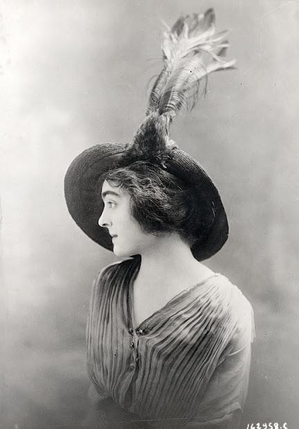 women hats 1913-1915 vintage